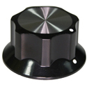 Synth knob Synthie-5 Black
