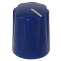 Mini-Fluted knob dark blue