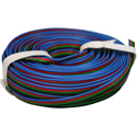 Quad Wire 0,25mm, bk/gn/rd/bl, 10m
