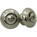 Toronzo Strap Button TZ-15-Nickel
