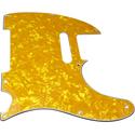 Toronzo Pickguard TE-3PLY-Pearl Yellow