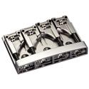 Schaller Bass bridge 3D-4 4-string Chrome