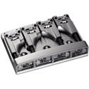 Schaller Bass bridge 3D-4 4-string Satin Chrome