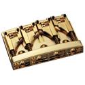 Schaller Bass bridge 3D-4 4-string Gold