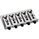 Schaller Bass bridge 2000 5-string Satin Chrome
