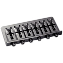 Schaller Bass bridge 2000 6-string Ruthenium