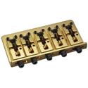 Schaller Bass bridge 2000 Piezo 5-string Gold