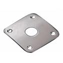 Schaller SC580113 Jack plug plate Brass Satin Chrome
