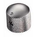 Schaller Aluminum Dome knob - Satin Chrome