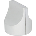Aluminum pointer silver 28mm