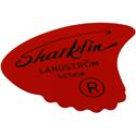 Shark Fin Goldprint Soft red