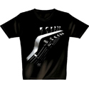 T-Shirt Space Guitar S