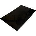 Pickguard Plate 1ply Black