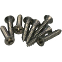 Pickup Frame Screws HB13-SS-8pcs