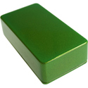 Enclosure B-Apple Green Sparkle-Bulk