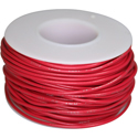 Wire, 0,35mm, red, 15m