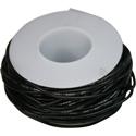 Wire, 0,35mm, black, 15m