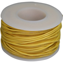 Wire, 0,35mm, yellow, 15m