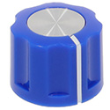 Synth knob Synthie-2 Blue