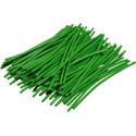 Pre-cut Wire 0,25mm, green, 5cm, 100pcs