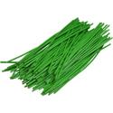 Pre-cut Wire 0,25mm, green, 7,5cm, 100pcs