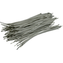 Pre-Cut-Stripped Wire 0,25mm, white, 7,5cm, 100pcs