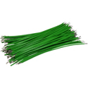 Pre-Cut-Stripped Wire 0,25mm, green, 10cm, 100pcs