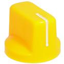 Vintage Yellow pointer knob