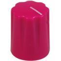 Mini-Fluted knob Pink