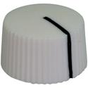 Amp style knob LC-White