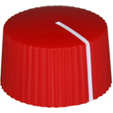 Amp style knob LC-Red