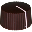 Amp style knob LC-Brown