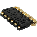 Schaller Guitar bridge Hannes 6 Piezo Gold