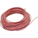 Silicon Wire 1,0mm, red 25m