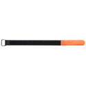 Velcro cable ties, 20x300mm, 10pcs, Orange