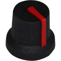 GNA knob ST-BLK-RED