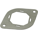Mounting plate 35mm, metal