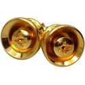 Toronzo Strap Button TZ-14-Gold