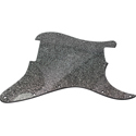 Toronzo Pickguard ST-NH-2PLY-Sparkle Black
