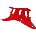 Toronzo Pickguard ST-SSS-LH-2PLY-Sparkle Red