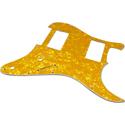 Toronzo Pickguard ST-HH-2P-3PLY-Pearl Yellow