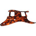 Toronzo Pickguard ST-HH-2PTS-3PLY-Marble Orange