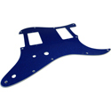 Toronzo Pickguard ST-HH-2PTS-2PLY-Sparkle Blue