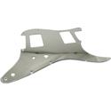 Toronzo Pickguard ST-HH-2PTS-2PLY-Mirror Chrome
