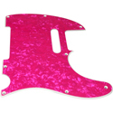 Toronzo Pickguard TE-2PLY-Pearl Pink