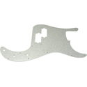Toronzo Pickguard PB-2PLY-Sparkle Silver
