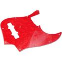 Toronzo Pickguard JB-3PLY-Pearl Red