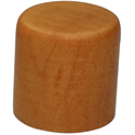 Wood knob Dome-PL-Amber