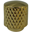 Mini Dome Knob 12x14 Gold