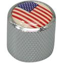 Dome Knob USA Chrome